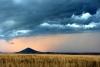Mongolei Suhbaatar Vulkanlandschaft