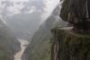 Weg  von Rampur nach Rekong Peo