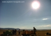 Sonnenfinsternis waehrend des Treks