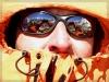 Gipfelgl�ck in der Sonnenbrille