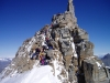Rush-Hour am Gran Paradiso (4061m)