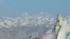 Blick vom Stok Kangri zum Karakorum