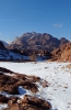Snow in Sinai