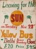 The Hippie trail  - Bus to Goa
