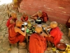 kleine Mönche von Amarapura