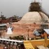 Boudhannath Stupa Wiederaufbau, Mitte Mai 2016