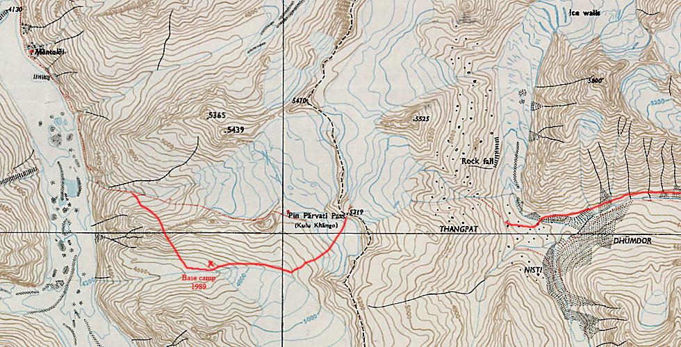 Survey of India maps for trekking - India Travel Forum | IndiaMike.com
